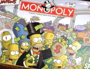 Juego de Monopolio versión Simpsons