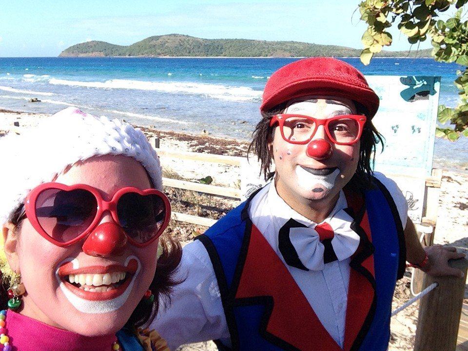 Nosotros frente a Zoni Beach, Culebra, PR