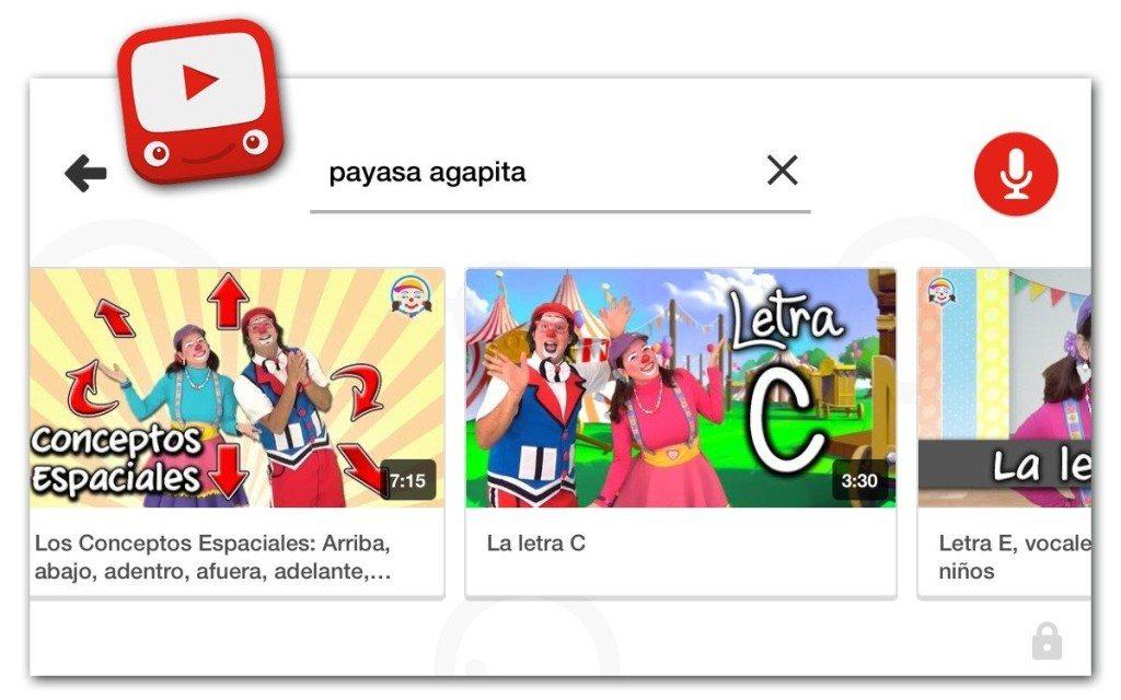 Payasos Agapita, Che-ché y Potoco de puerto rico en youtube kids app