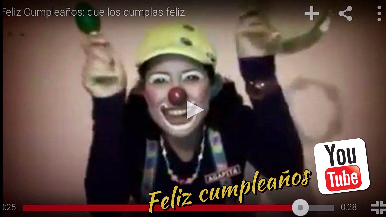 Feliz Cumpleaños YouTube, youtube cumple