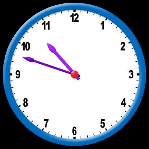 ¿Qué hora marca el reloj