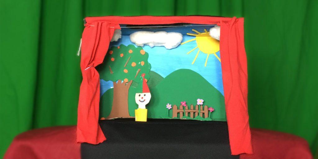 Teatro portátil para niños, imagina teatro payasa agapita