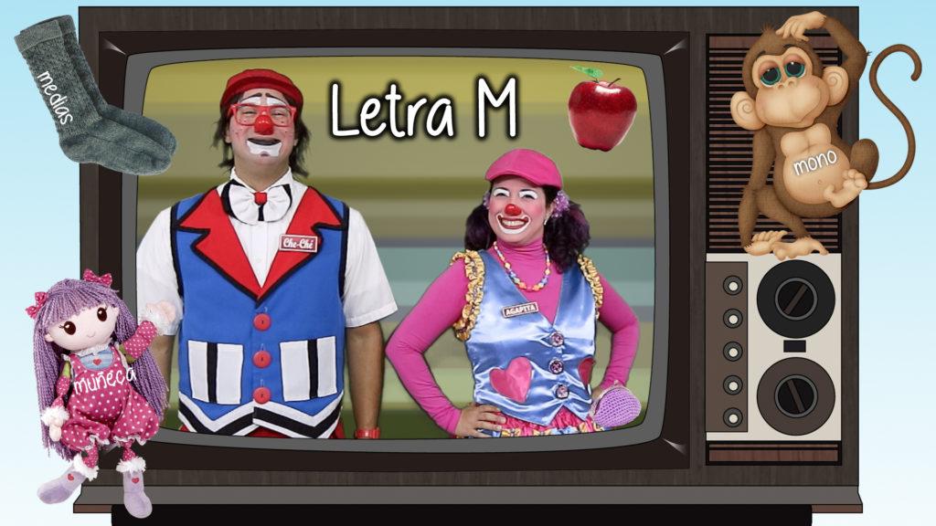 Letra M - abecedario - alfabeto español
