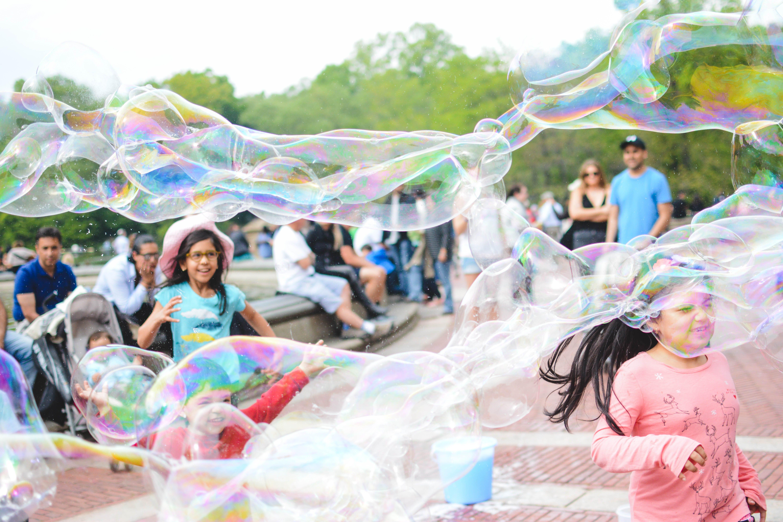 muevete con burbujas