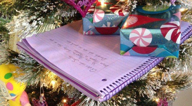 2×1: Escribe la carta a Santa y desarrolla la escritura