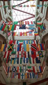 Hospital St. Jude - Banderas de países presentes